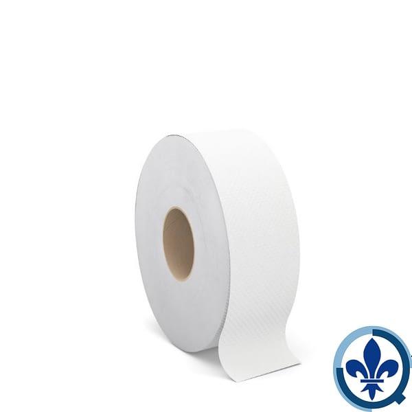 Rouleaux-de-papier-hygiénique-géants-Cascades-PRO-Select-blanc-2-épaisseurs-750-pi-caisse-de-12-B221_Quorum_Select_Bath_Jumbo_Roll_Product