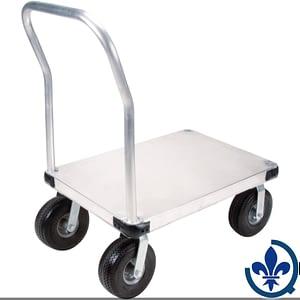 Chariots-à-plateforme-en-aluminium-ML919