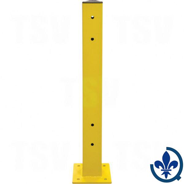 Poteau-double-pour-barrière-de-sécurité-KI247