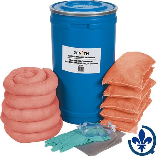 Trousses-de-déversement-16-gallons-Matières-dangereuses-SEJ279