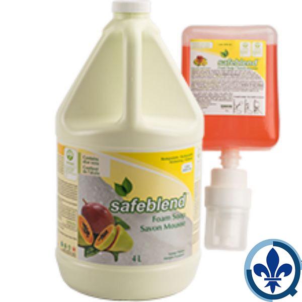 SAFEBLEND-SAVONS-MOUSSEParfum-mangue-papaye-HFMP-Safeblend-Foam-Soap