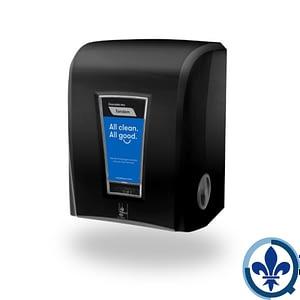 Distributeur-électronique-hybride-de-papier-en-rouleau-Cascades-PRO-Tandem-Noir-C228_Quorum_Tandem_Dispenser_Product