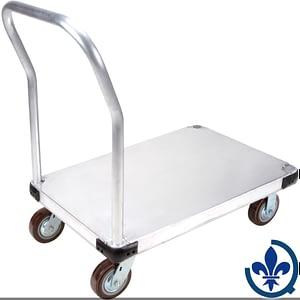 Chariots-à-plateforme-en-aluminium-ML931