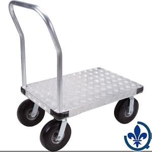 Chariots-à-plateforme-en-aluminium-ML922