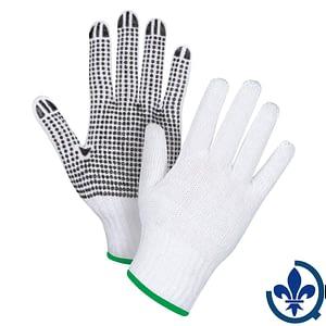 Gants-en-poly-coton-blanc-à-pois-SAN490