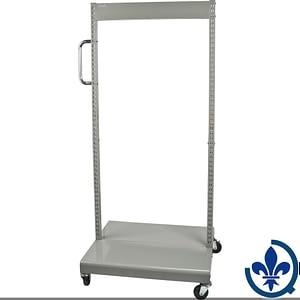Servantes-mobiles-de-bacs-à-plateaux-inclinables-Chariot-seulement-CF475