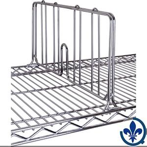 tagères-en-treillis-chromaté-Diviseurs-pour-tablette-RL050