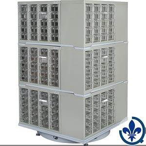 Carrousel-de-casiers-à-tiroirs-industriels-robustes-CF406