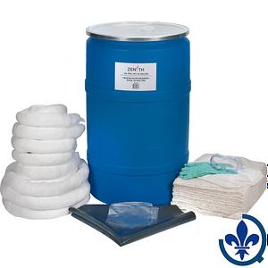 Trousses-écologiques-de-déversement-55-gallons-Huile-seulement-SEI182