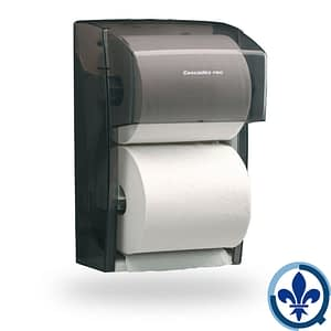 Distributrice-universelle-de-papier-toilette-à-deux-rouleaux-standards-DB18_Quorum_Universal_Dispenser_Product