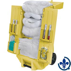 Trousses-de-déversements-mobile-sur-chariot-à-outils-mobile-30-gallons-Huile-seulement-SEI200