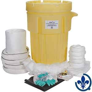 Trousses-industrielles-de-déversement-mobile-95-gallons-Huile-seulement-SAK245