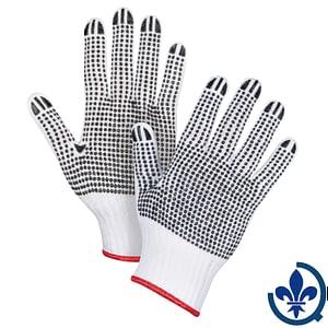 Gants-en-poly-coton-blanc-à-pois-SAN493