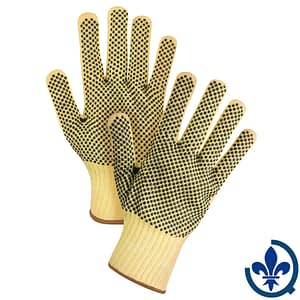 Gants-en-tricot-de-KevlarMD-avec-pois-en-PVC-SFP802