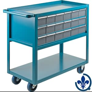 Chariot-à-tablette-avec-tiroir-MA245