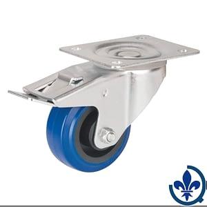 Roulette-en-caoutchouc-élastique-bleu-MO513