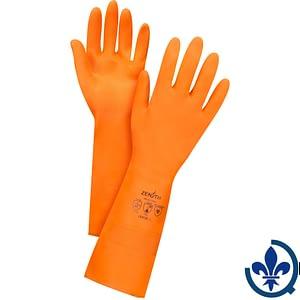 Gant-doublé-en-latex-orange-SGH421