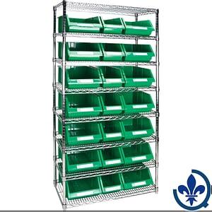 tagères-robustes-en-treillis-métallique-avec-bacs-de-rangement-RL841