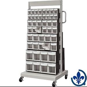 Servantes-mobiles-de-bacs-à-plateaux-inclinables-CF478