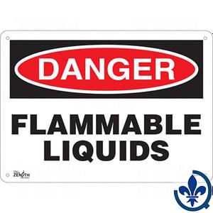 Enseigne-«Flammable-Liquids»-SGL574