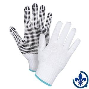 Gants-en-poly-coton-blanc-à-pois-SAN492