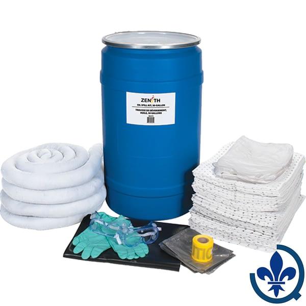 Trousses-de-déversement-30-gallons-Huile-seulement-SEJ275