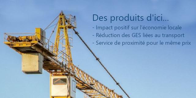 Produits industriel québécois et canadiens