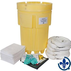 Trousses-économiques-de-déversement-mobile-95-gallons-Huile-seulement-SAK253