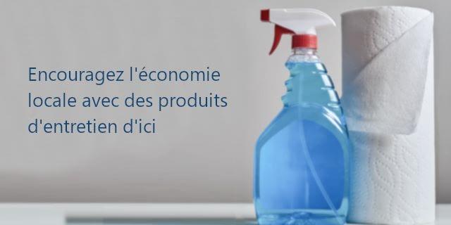 produit sanitaire menager quebecois et canadien
