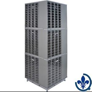 Carrousel-de-casiers-à-tiroirs-industriels-robustes-CF408