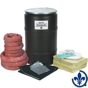Trousses-de-déversement-55-gallons-Matières-dangereuses-SEJ271