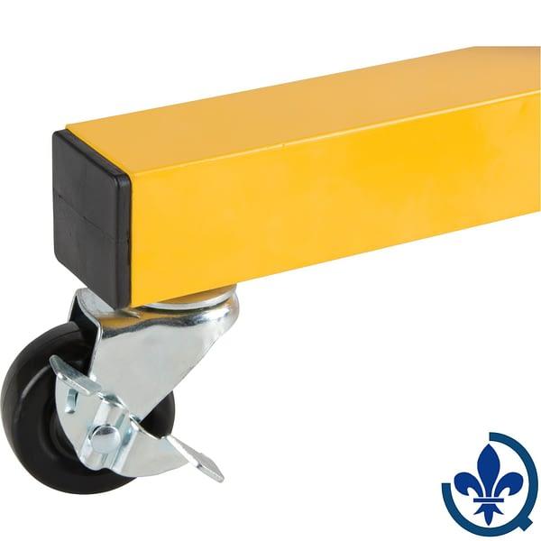 Trousse-de-roulettes-en-option-pour-barrière-extensible-Zenith-SDK990-SDK991