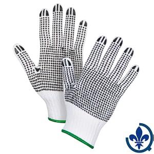 Gants-en-poly-coton-blanc-à-pois-SAN494