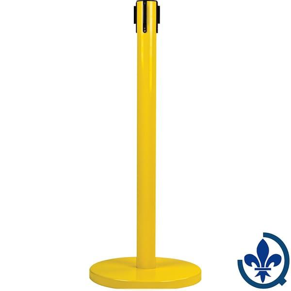 Poteau-récepteur-pour-barrières-sur-pieds-pour-le-contrôle-des-foules-SAS232