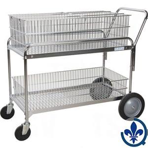 Chariot-de-bureau-en-treillis-métallique-pour-le-courrier-MO843