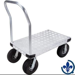 Chariots-à-plateforme-en-aluminium-ML910