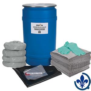 Trousses-de-déversement-pour-établi-30-gallons-Universel-SEJ274