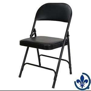 Chaise-pliante-rembourrée-en-vinyle-OP962